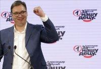 Вучич обяви историческа победа на изборите в Сърбия