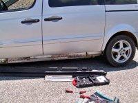"""Хванаха на """"Маказа"""" гръцки шофьор с укрити в тайник голямо количество контрабандни цигари"""