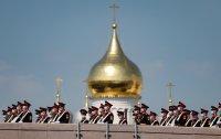 снимка 6 На Червения площад в Москва репетират за парада (Снимки)