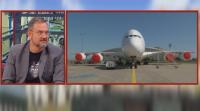"""Пилотът от """"Авиоотряд"""" 28 Йордан Колев: Авиоуслугите може да поскъпнат след кризата с COVID-19"""