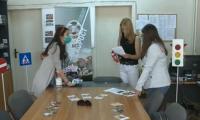 Интерактивно обучение за децата от Благоевград в Деня за безопасност на движение по пътищата