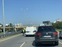 """снимка 5 Тежка катастрофа с автобус блокира """"Цариградско шосе"""""""