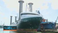 Ремонтират във Варна кораб, който щади природата