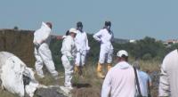 До 40 тона отпадъци са заровени в бившето ТКЗС край Червен бряг