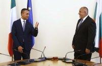 На среща с Борисов: Външният министър на Италия поздрави България за справянето с кризата