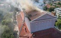 Пожарът в Русенската опера е унищожил само покрива, спасени са декорите и костюмите