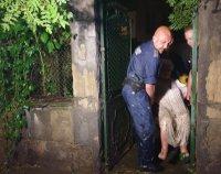 Жена бе блокирана на първия етаж в къщата си заради проливните дъждове