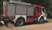 Пожар гори в предприятие за пластмаси в Средец