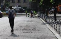 """Част от столичната улица """"Съборна"""" става пешеходна"""