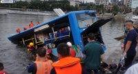 Автобус с ученици падна в езеро в Китай. 21 загинаха, 15 са ранени