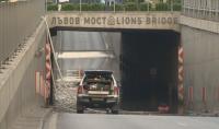"""След бурята в София: Ситуацията се нормализира, остава затворен подлезът на """"Лъвов мост"""""""