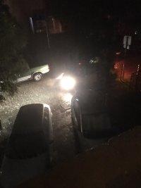снимка 6 Мощна буря в София: Наводнени улици и закъсали коли