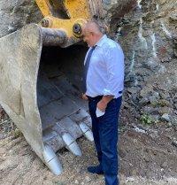 Борисов: Пътят Велинград - Сърница е почти готов