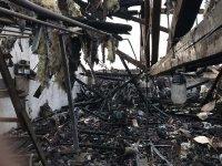 Ексклузивни кадри от пожара в Русенската опера. Вижте щетите (Снимки)