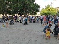 Протест срещу недостига на места в ясли и градини в София