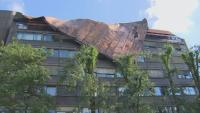 Буря отнесе покриви и затвори пътища в Словения
