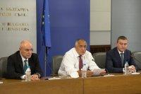 Борисов, Горанов и управителят на БНБ за приемането на България в чакалнята на еврозоната