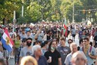 снимка 6 Трети ден протести в София