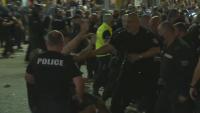СДВР показа кадри с агресивни прояви от страна на протестиращите