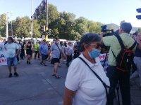 """снимка 3 Жители на """"Княжево"""" протестират срещу разширяването на бул. """"Цар Борис III"""" (Снимки)"""