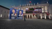 Малка преднина на Дуда на балотажа на президентските избори в Полша