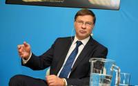 Валдис Домбровскис пред БНТ: България трябва да изпълни критериите за приемане на еврото