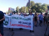 """Жители на """"Княжево"""" протестират срещу разширяването на бул. """"Цар Борис III"""" (Снимки)"""