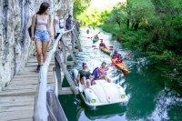 С каяк и водно колело по река Златна Панега (СНИМКИ)
