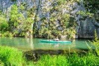 снимка 10 С каяк и водно колело по река Златна Панега (СНИМКИ)