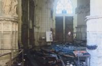 Освободиха задържания доброволец за пожара в катедралата в Нант