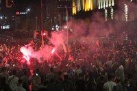 СДВР: 8 души са задържани на снощните протести в София