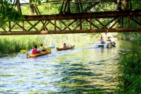 снимка 3 С каяк и водно колело по река Златна Панега (СНИМКИ)