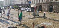 снимка 8 Осми пореден ден на протести в София