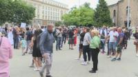 Протестиращи: Вчерашната ескалация е дело на провокатори