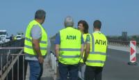 """След оглед на 160 км на """"Тракия"""": Износена маркировка, стари мантинели и износен асфалт"""