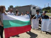 """Превозвачи на протест на """"Дунав мост"""": Върнете винетките"""
