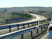 """Голямо задръстване на магистрала """"Тракия"""" заради катастрофа"""