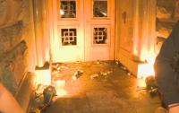 Протестиращи разбиха вратата на бившия Партиен дом, пострадал е полицай (ОБОБЩЕНИЕ)