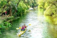 снимка 2 С каяк и водно колело по река Златна Панега (СНИМКИ)
