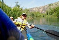 снимка 13 С каяк и водно колело по река Златна Панега (СНИМКИ)