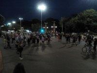 МВР разпространи кадри от протестите вчера (ВИДЕО)