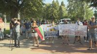 """Протест пред столичната """"Св. София"""" заради едноименния храм в Истанбул"""