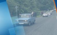 """Естония празнува с парад 50 години от пускането на автомобилите """"Лада"""""""