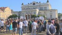 Протест на хазартния бизнес пред НС