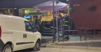 Автомобил се вряза в магазин във Велико Търново