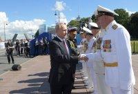 Парад по повод Деня на военноморския флот в Русия