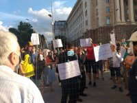 Без инциденти премина 18-ият ден на протести в София