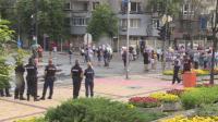 Антиправителствени протести имаше и днес в страната