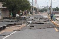снимка 6 Наводнения, боклуци и разрушени пътища след урагана Хана в Мексико (Снимки)
