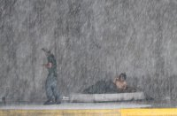 снимка 8 Наводнения, боклуци и разрушени пътища след урагана Хана в Мексико (Снимки)